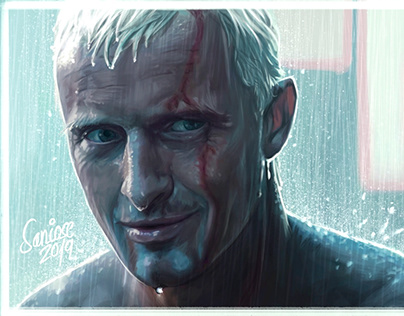 Rutger Hauer - Blade Runner - Time to die