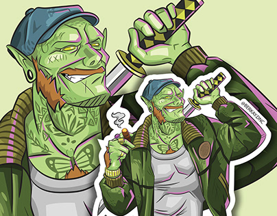 Goblin and Elf Stickers