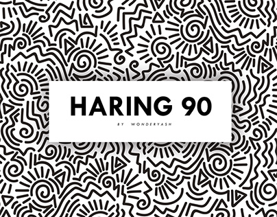 HARING 90: A Tribute to Keith Haring (Summer Project)