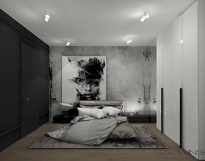Sypialnia/Bedroom modern design