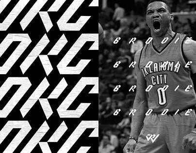 Russell Westbrook Typeface