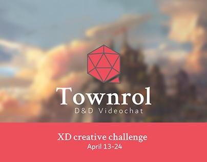 Townrol | XD Creative Challenge