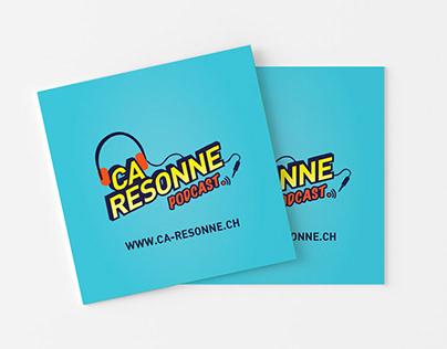 Ça Résonne - Podcast branding