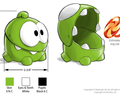 """""""Cut The Rope"""" Toy Design"""