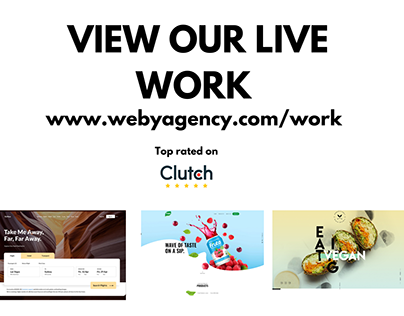 View our website for our live work