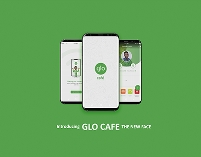 Glo Cafe APP UI REDESIGN
