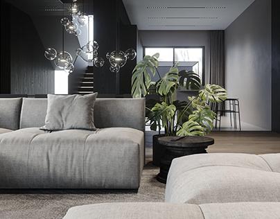 I.082 - Single family house interior design
