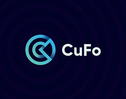 CuFo Logo Design ( Circle + Connection + Letter C )