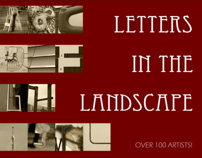 """Typography """"Letters"""" Poster"""