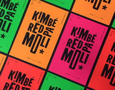 Kimbé rèd - Greeting Card