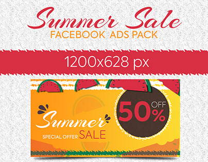 Summer Sale Facebook Banners