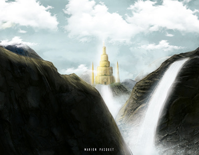 Lost Temple - Matte Painting
