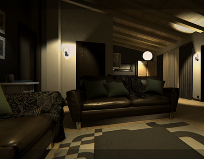Dynamic living room for Virtual Reality