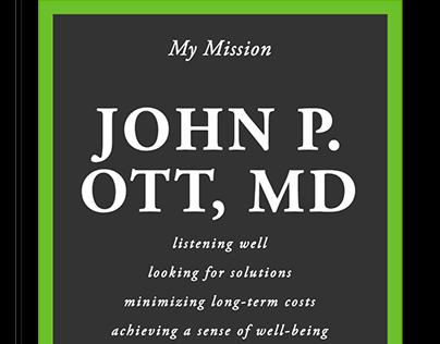 John P. Ott, M.D.