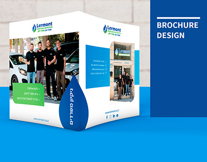 Brochure Design Cleaning service company