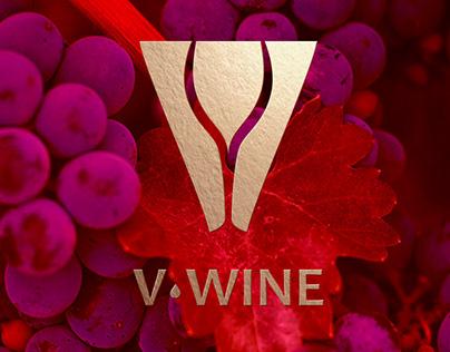 V-Wine Brand Identity 2018