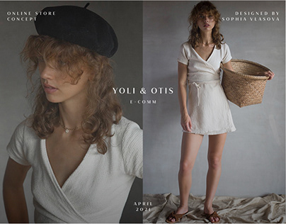 Yoli & Otis — E-commerce concept
