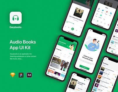 Easybooks - Audio Books App UI Kit
