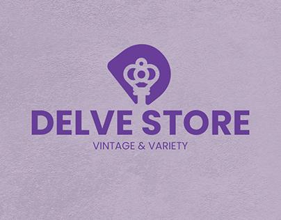Antiques Store Brand identity