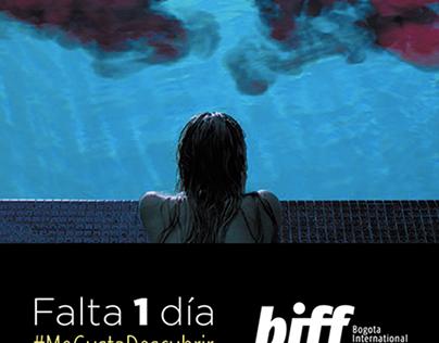 BIFF: Bogotá International film festival countdowns