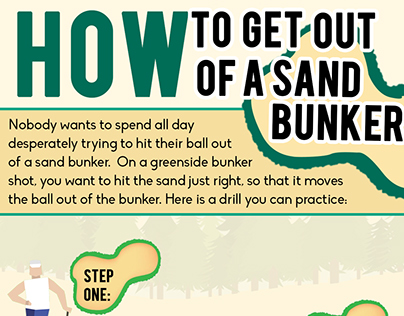 How to get out of a Sand Bunker