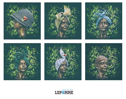 Velette Sospette hat couture