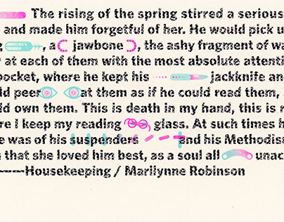 (quote) / housekeeping by marilynne robinson