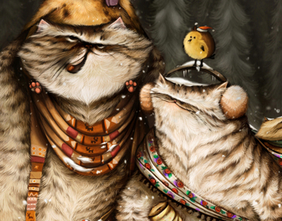 Cat Familly