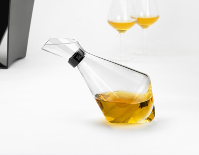 "Wine duck decanter ""réséda"" for Peugeot-2013-"