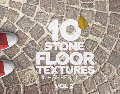 Stone Floor Textures x10 Vol 2