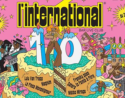 So emoji - L'international 10 ans
