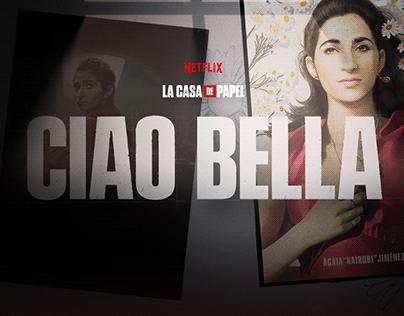 Netflix - La Casa de Papel - Ciao Bella