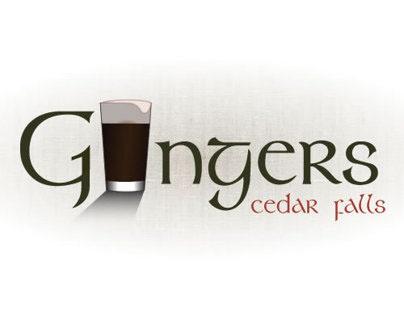 Logo Design   Gingers Irish Pub