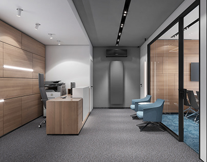 Minimalistic office design