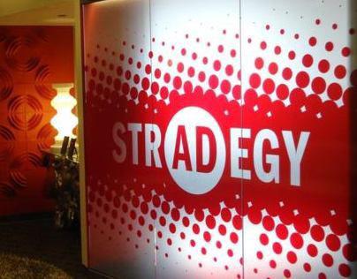 strADegy advertising | Logo, Branding