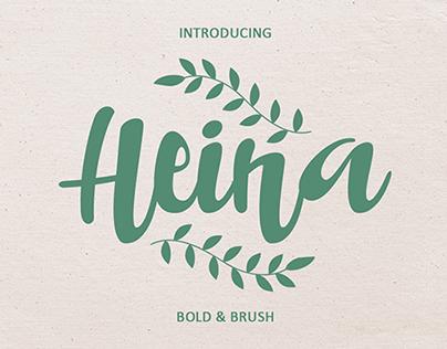 Heina Typeface