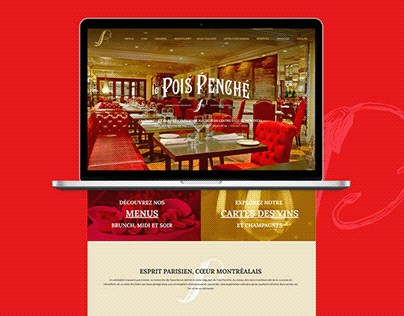 Le Pois Penché - Site web