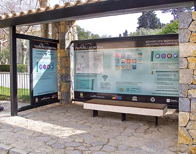 Infographic Valldemossa Bus station