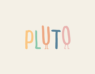 PLUTO · Brand Identity