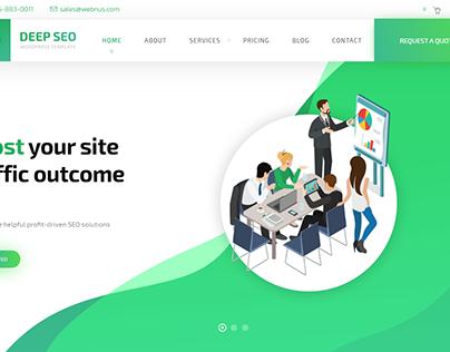 Recent eCommerce WordPress Website Templates-