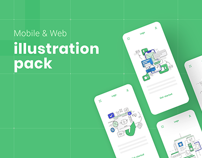 Illustration Pack / Mobile & Web