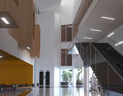 Vray Office Interior