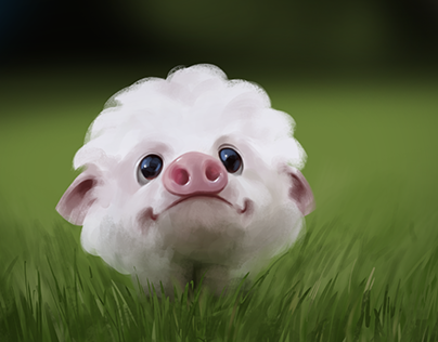 Little piggy speedpaint