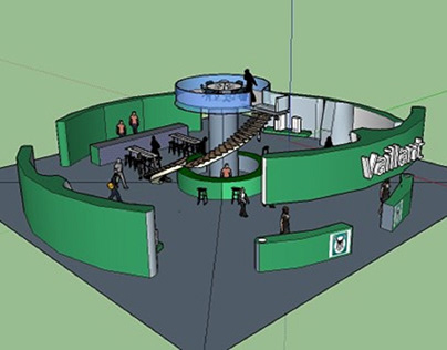 Exhibition Design Concepts - Vaillant Case Study