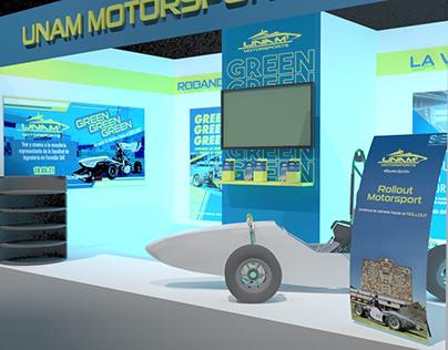 Stand UNAM Motorsports