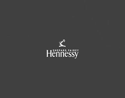 Hennessy x Shepard Fairey Promo Website