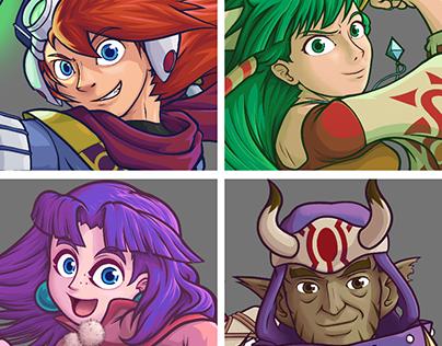 Grandia Characters Redone 1