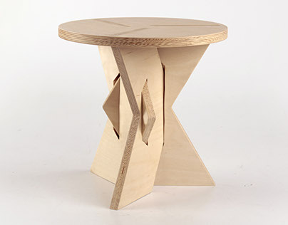 X-Stool. Inspired by Bauhaus. Desined for modern life