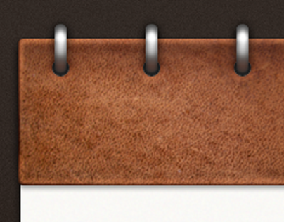 iPad Leather and Paper