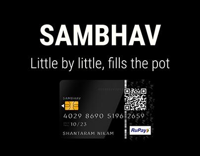 Sambhav Card - Human-Centered Design